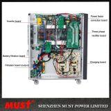 CPUはIGBTの技術220V/230V/240V 6kVA 10 KVA 15kVA 20kVAオンラインUPSスマートなRS232ポートを制御する