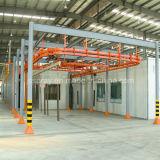 Linha de revestimento do pó & máquina de pulverização para as seções de alumínio