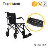Облегченная алюминиевая портативная складная кресло-коляска Taw818L