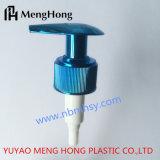 28/410 pompe uv-bleu de lotion pour la bouteille de rondelle de corps