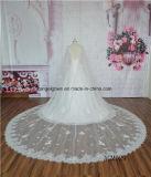 Классический шнурок типа с платьем венчания плащи-накидк