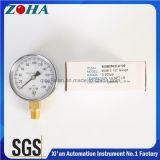 indicateur de pression de terrain communal de 63mm avec l'exportation en laiton du connecteur Hpb59-1 vers le marché de l'Amérique