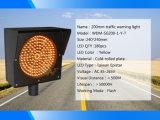 200mm gelbe LED blinkende Signal-Verkehrs-Warnleuchte