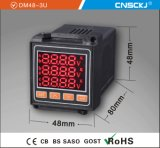 72*72mm Factory Price LED Display WS Three-Phase Digital Ampere Meter