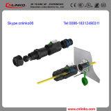 Connettori di cavo ottico ottici della fibra di singolo modo di LC del collegamento a Internet della fibra