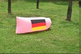 Lugar frequentado inflável ao ar livre conservado em estoque do saco de sono do ar