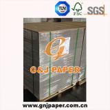 papier de panneau duplex enduit du côté 250g un avec le dos de gris