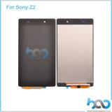 ソニーXperia Z2のタッチ画面アセンブリのための携帯電話LCDの表示