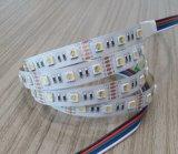 CE EMC LVD RoHS Garantía de dos años, LED RGB + W Franja de luz