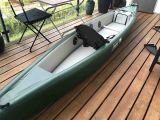 Aufblasbares Special Rettungsboot für Mission mit Rudder