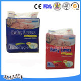 Disposable économique Baby Diapers avec Leakguards