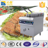 Double Baskets Induction Fry Machineの魚およびChips Fryers