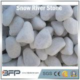 Каек горячего снежка сбывания белые/камень реки широко используемый в поле, стене, плавательном бассеине