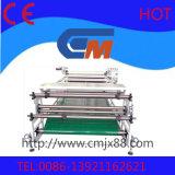 machine à grande vitesse de presse de transfert thermique de roulis