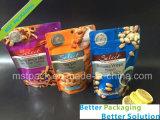 Los bocados de empaquetado del bolso de la fruta seca plásticos se levantan el bolso
