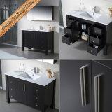 Nouveau Module de vanité de salle de bains de chêne de vanité en bois plein de Sanitaryware