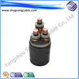 Mv XLPE Insulated PVC Sheathed Flame Retardant Electric Power Cable