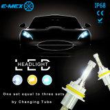 Linterna 9004 9007 de la iluminación LED del coche del poder más elevado