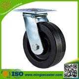 Industrielle Fußrolle mit Qualität rotem PU-Rad