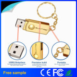 Paste de Vrije Steekproef van de hoogste Kwaliteit de Stok van het Metaal USB van het Embleem aan