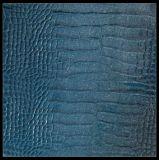 De Dikte van het Patroon van Snakeskin 1.2 mm van het Leer van pvc, Synthetisch Leer voor de Zak van de Hand