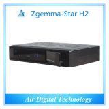 Zgemma-Estrela H2 do T2 do receptor satélite DVB S2 DVB da caixa da tevê do Internet