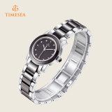 女性71132のための高品質の水晶陶磁器の腕時計