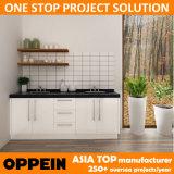 Kleine White lak keukenkast voor Australië Project (OP14-L05)
