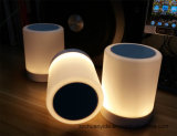 Bewegliches Mini Wireless Speaker mit LED Light und Touch Sense