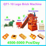 2016 Nouvelle marque Fuda Interlocking brique Machine, Lego brique d'argile Machine, Lego machine