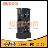 Nwcr-12bの安全灯ラック充電器、ランプの充満ラック