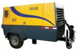 Compressor van de Lucht van de Schroef van de dieselmotor de Draagbare/Mobiele (SCR600PDH)