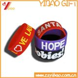 Pulseira Custom Silicone Slap for Promotion Gift (YB-LY-WR-43)
