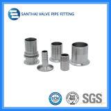Ajustage de précision sanitaire de bride de pipe du coude 304 /316 d'acier inoxydable