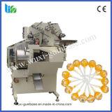 Automáticos de alta velocidade escolhem a máquina de empacotamento do Lollipop da esfera da torção