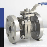 Flangeado, Theaded ou Screwed 2 Two Piece Ball Valve com RF, NPT ou Bsp Extremidade