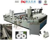Pequeño equipo de la máquina de la bobina de la alta cortadora de la producción y del papel higiénico