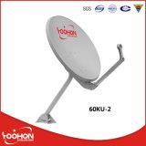 antenne parabolique d'antenne de l'antenne de satellite de bande de 60cm Ku TV