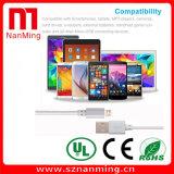 Mikro-USB zu Nylon des USB-Kabel-2.0 umsponnenem USB-aufladenkabel für Android