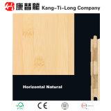 suelo de madera de bambú del grueso de 17m m