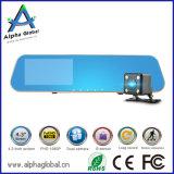 """4.3 """" кулачок черточки камкордера 1080P автомобиля автомобиля DVR зеркала LCD задний"""