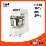 Электрическая спиральн машина выпечки оборудования гостиницы оборудования кухни машины еды оборудования доставки с обслуживанием BBQ оборудования хлебопекарни Ce смесителя (HS80) 80L 380V