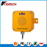 Amplificador resistente del altavoz del SIP del vándalo elegante de Kntech A4