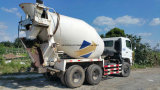 フィリピンへのきれいなMixing Drum Used Hino500/Agitating-Lorry Cement Concrete Mixer Truck (8CBM/ZF-Mixer)