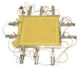 Melaleuca Feld-Aluminiumbildschirm-Feld-pneumatischer großer Silk Bildschirm, der Maschine ausdehnt