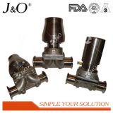 Gesundheitliches Membranventil mit Stainles Stahl-Stellzylinder