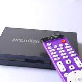 Комбинированная коробка DVB и IPTV с 64 обработчиком бита A53 DVB-S2 + T2 + кабель