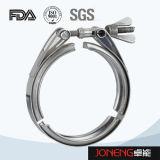 Type bride sanitaire (JN-CL 2001) de lumière d'acier inoxydable
