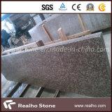 最も安い中国の石造りのモモの床または壁のタイルのための赤いG687花こう岩の平板