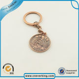 Métal promotionnel Keychain d'anneau principal de logo de cadeau